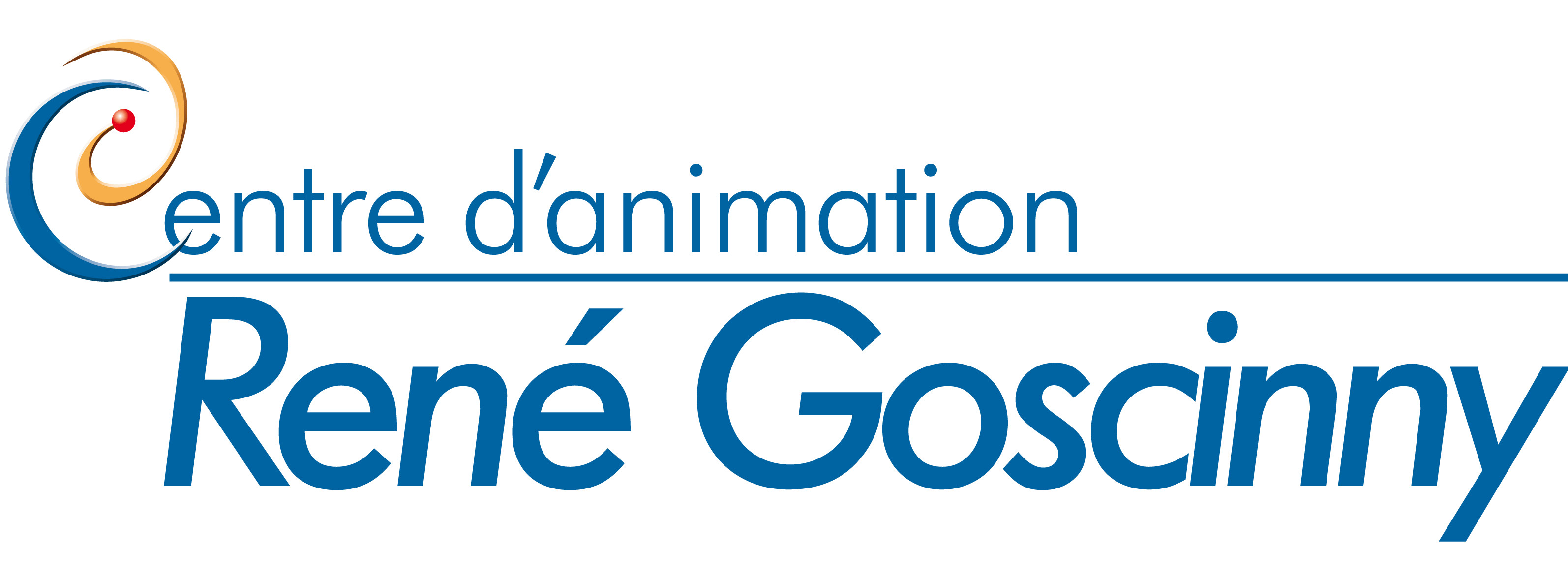 Logo du Centre d'Animation René Goscinny