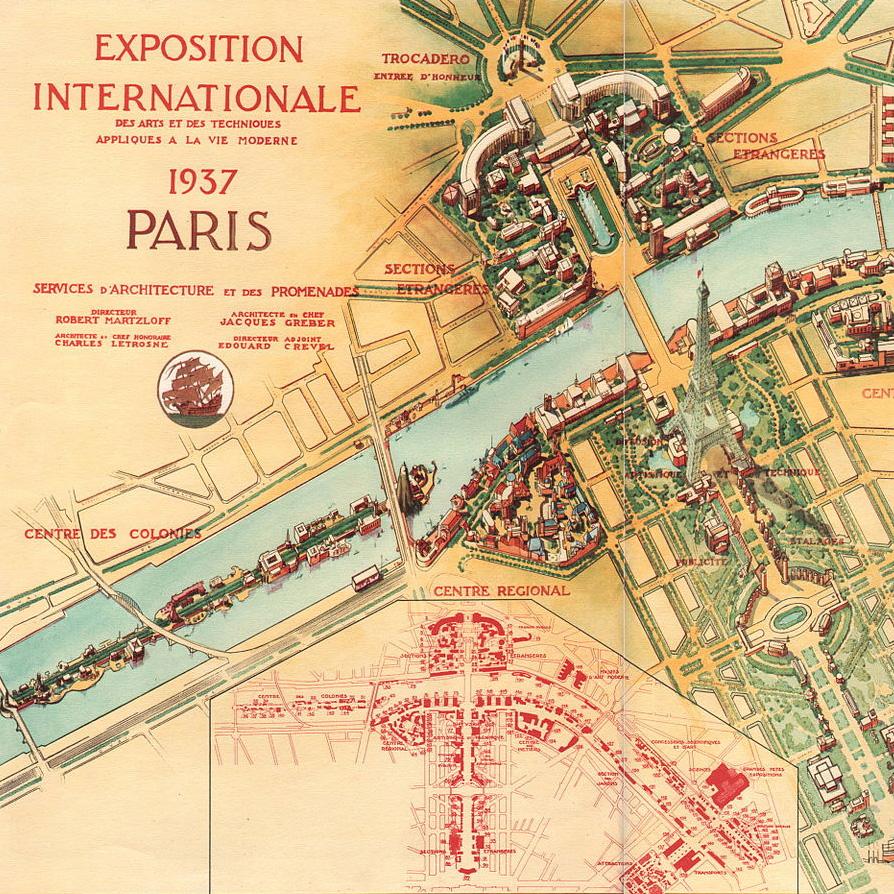 Pavillon de la Grande Masse - Expo universelle de 1937