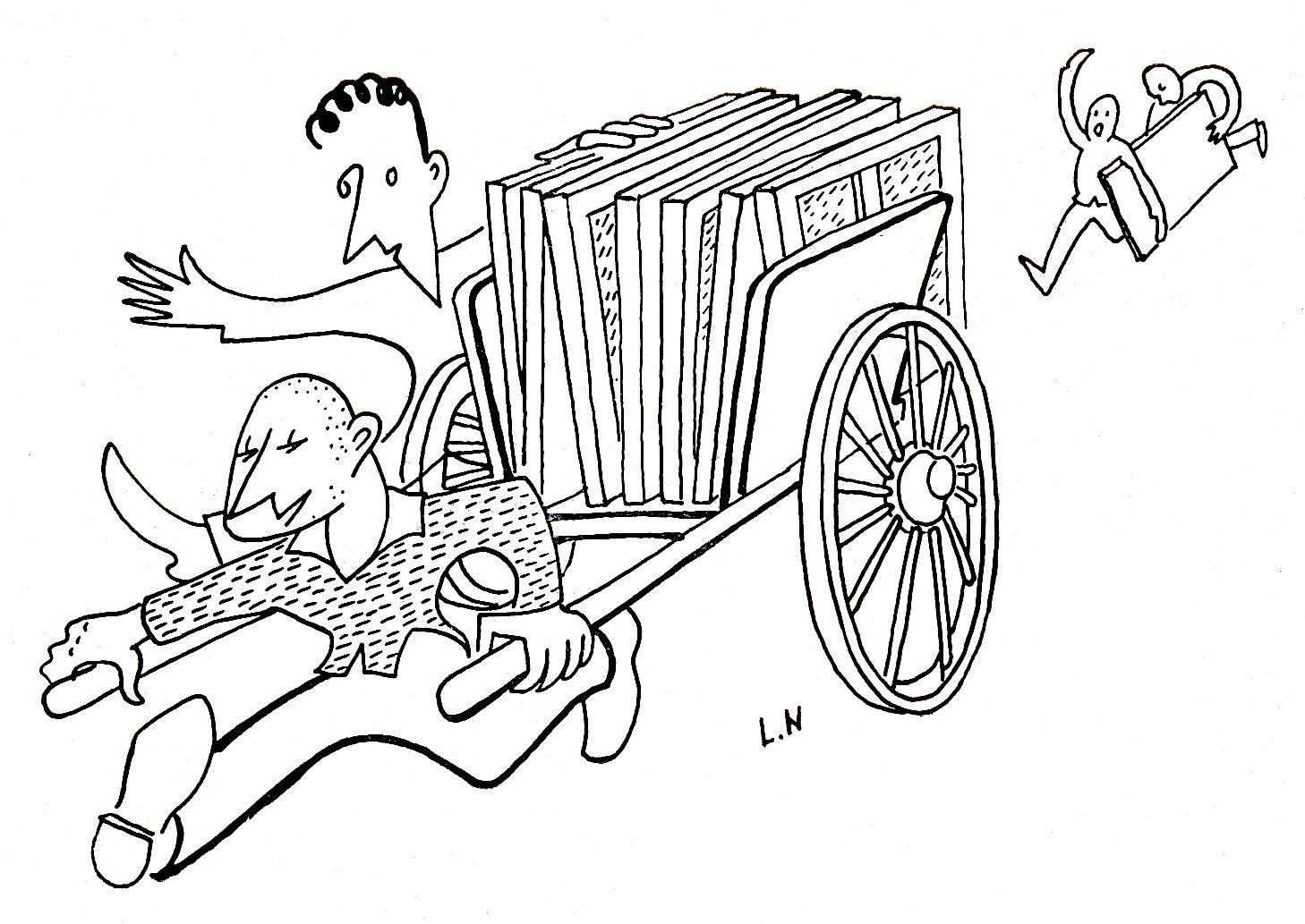 Alors charrette et charrett club le fil d 39 actu grande - Charrette dessin ...