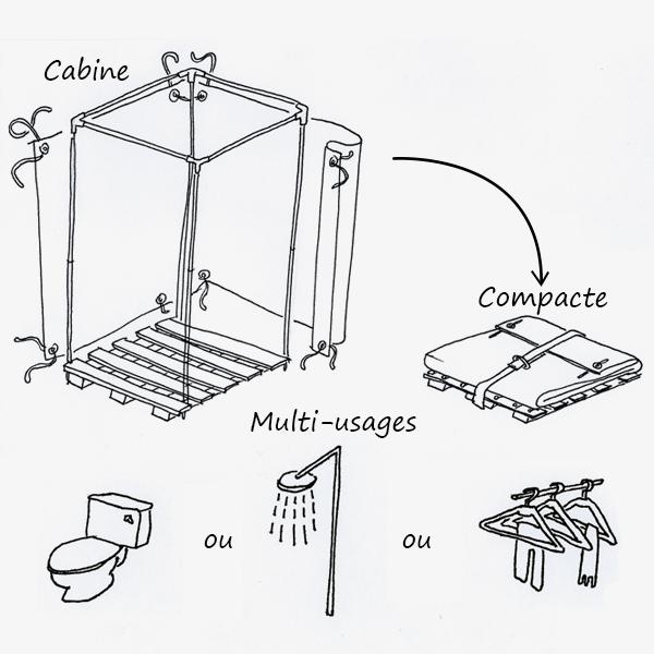 Cabine multi-usages