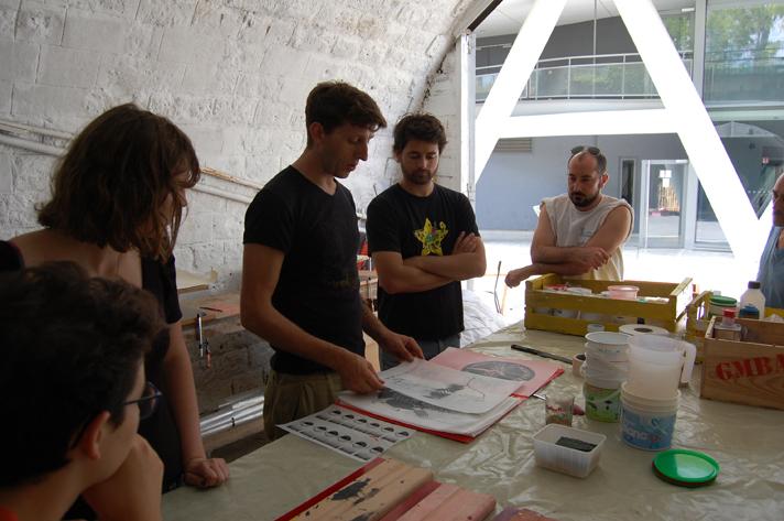 Atelier d'initiation à la sérigraphie