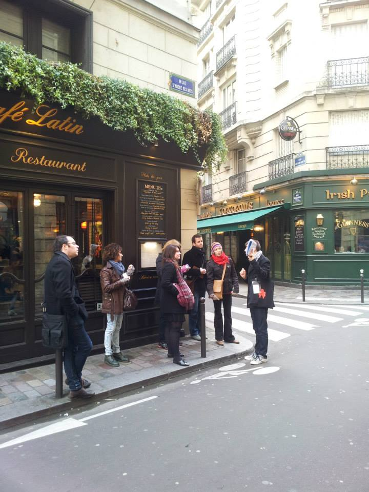 Visite du quartier Saint Germain